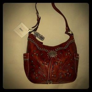 Beautiful Vintage Leather Bag